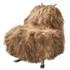 Unique Mariah Hairy Beast Chair by the Haas Brothers