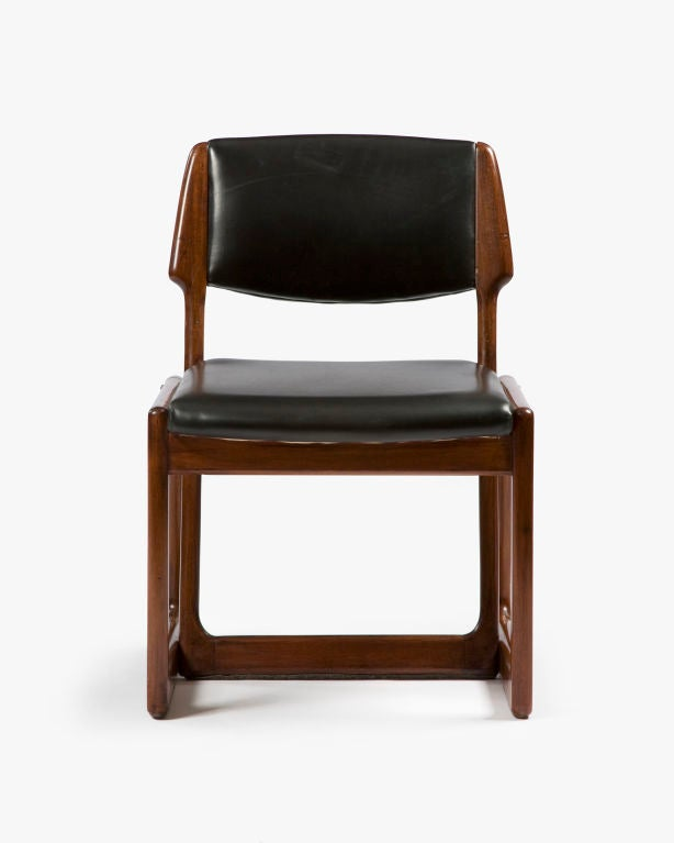 pin lina leather folding chair design within reach picture t