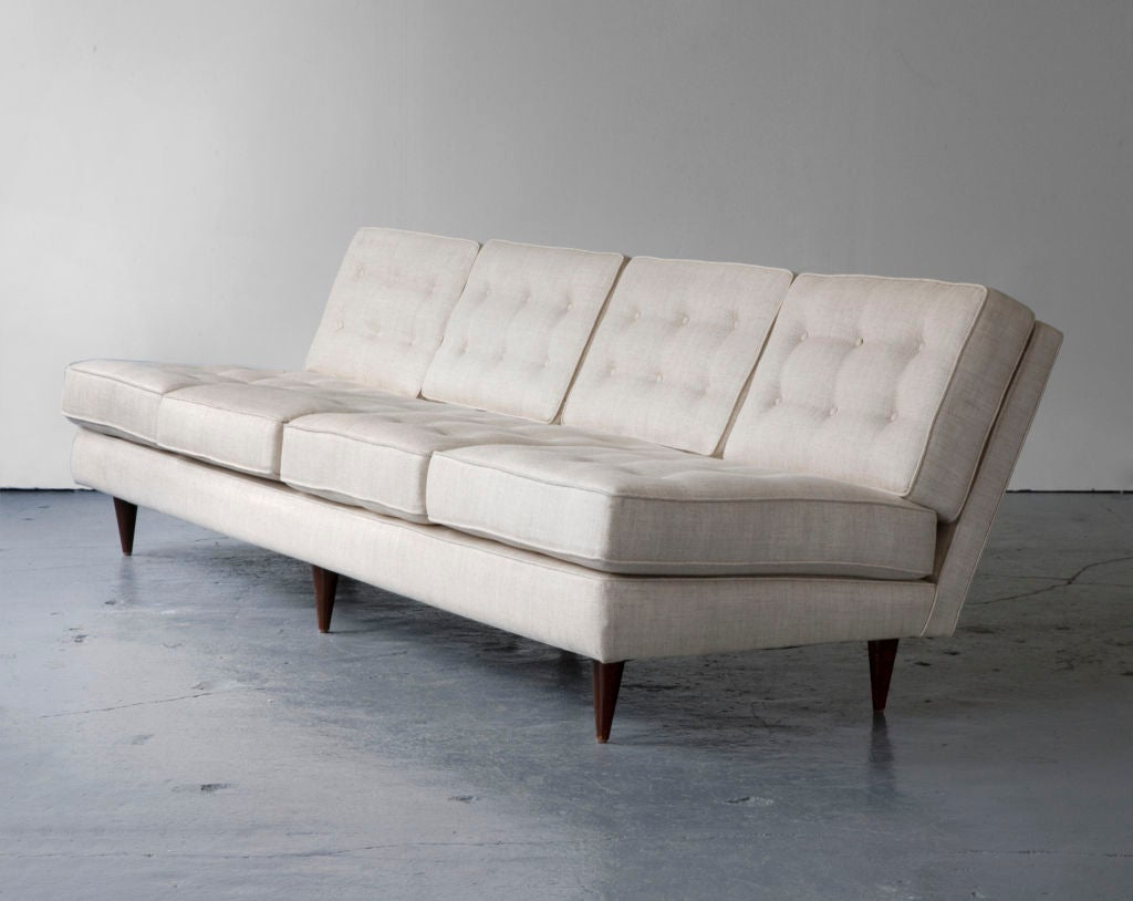 Brazilian Sofa by Joaquim Tenreiro, Brazil, 1950s For Sale