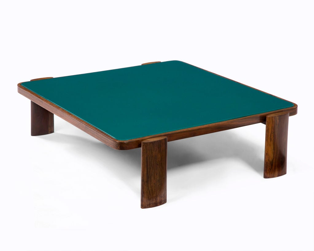 Custom Made Coffee Table By Joaquim Tenreiro At 1stdibs