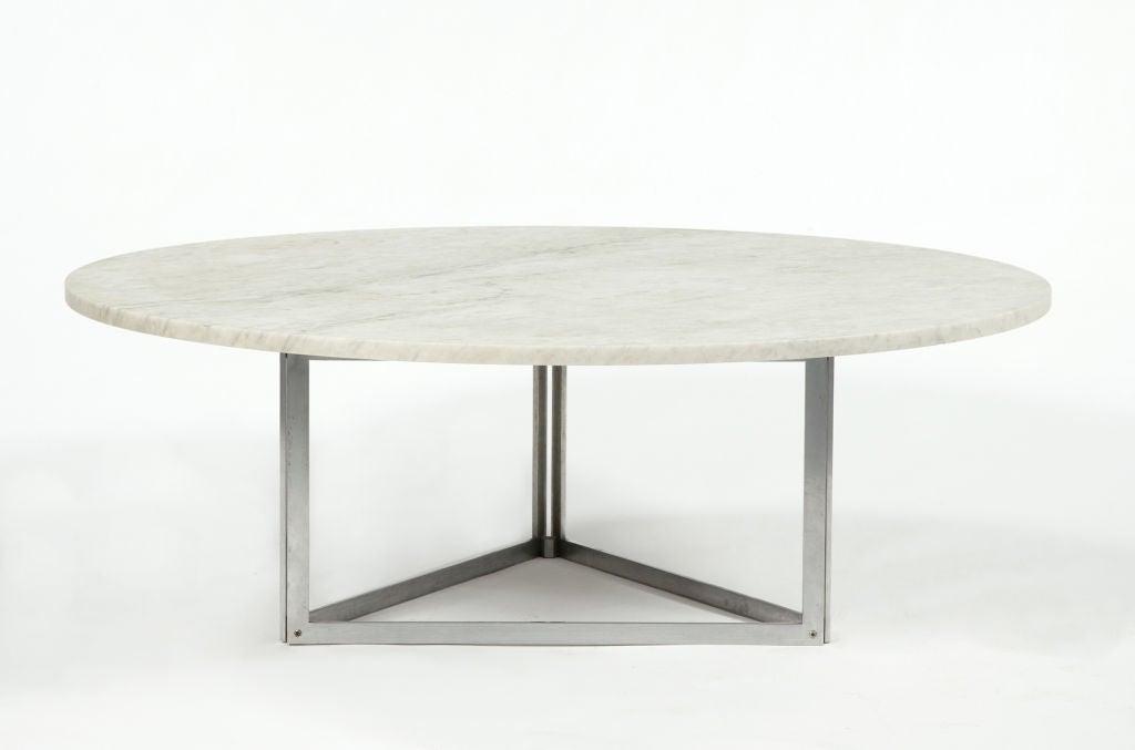 Rare PK 56 Coffee Table by Poul Kjaerholm, Denmark, 1978 2