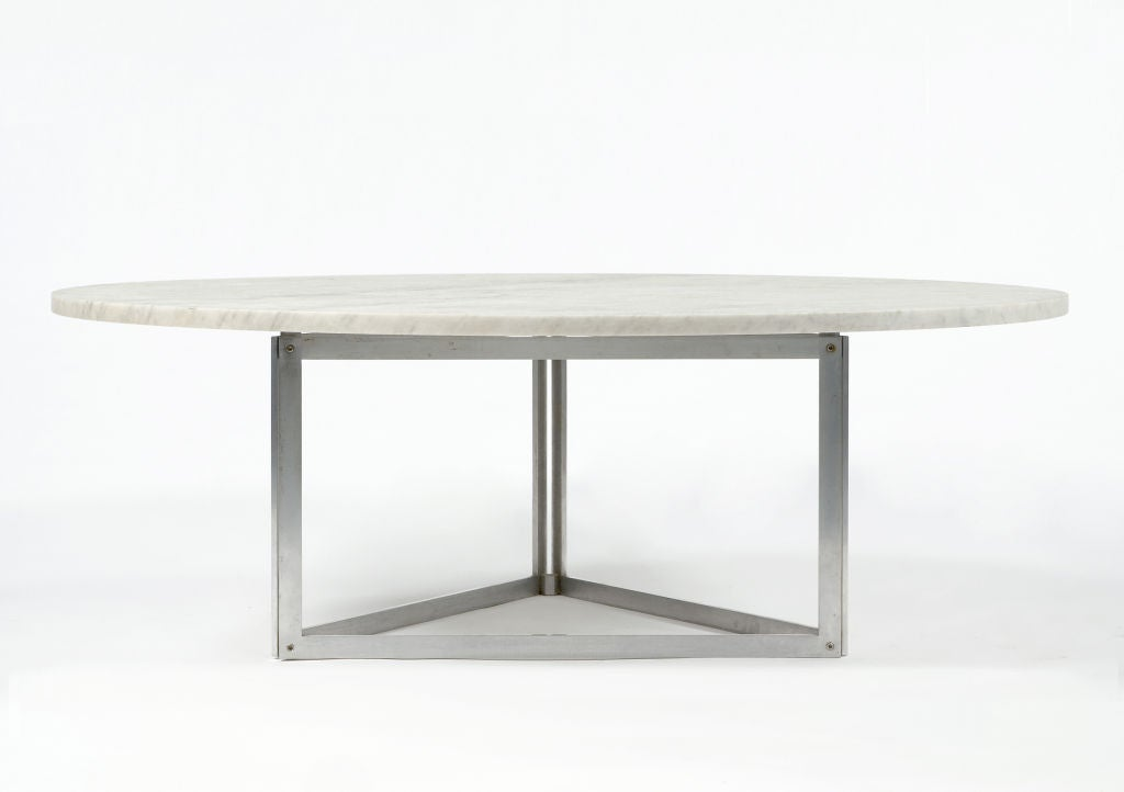 Rare PK 56 Coffee Table by Poul Kjaerholm, Denmark, 1978 3