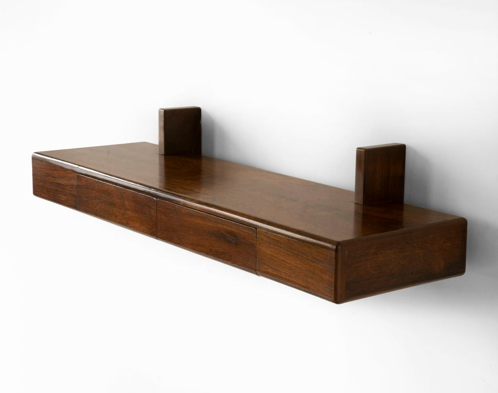 brazilian wall mounted shelf at 1stdibs. Black Bedroom Furniture Sets. Home Design Ideas
