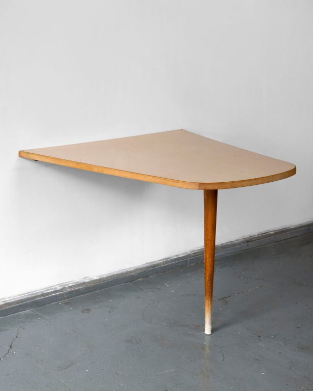 Wall Mounted Dining Table By Joaquim Tenreiro At 1stdibs