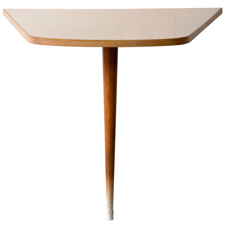 Wall Mounted Dining Table by Joaquim Tenreiro Brazil 1950s For