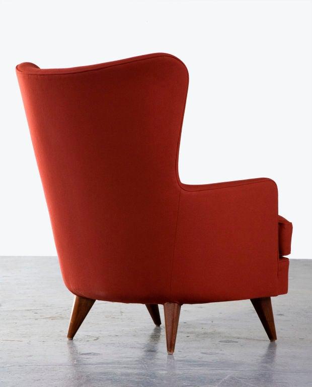 Brazilian Lounge Chair by Joaquim Tenreiro, Brazil, 1950 For Sale
