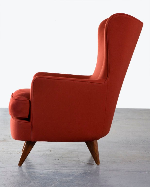 Lounge Chair by Joaquim Tenreiro, Brazil, 1950 In Excellent Condition For Sale In New York, NY