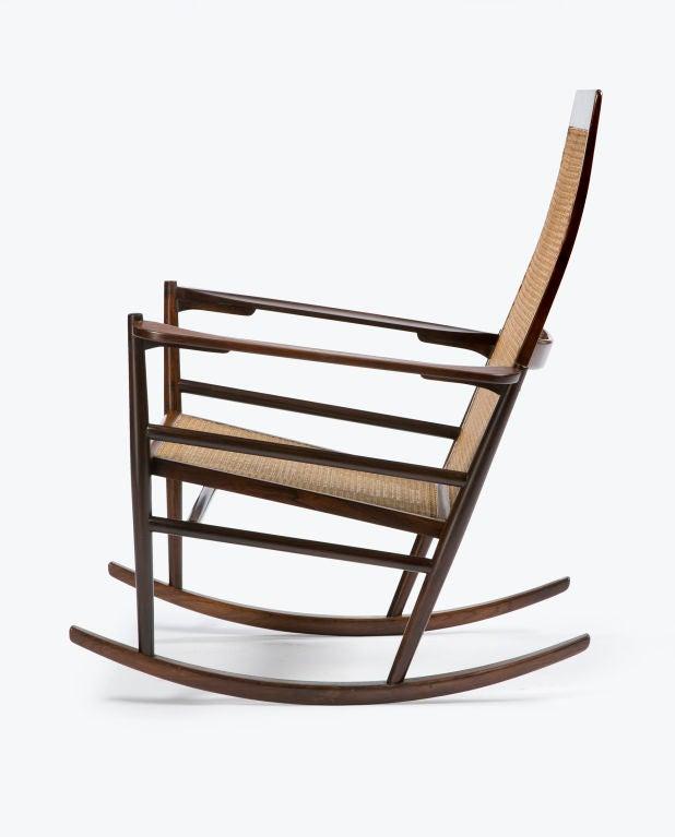 Cadeira De Ambalo Rocking Chair By Jaoquim Tenreiro At