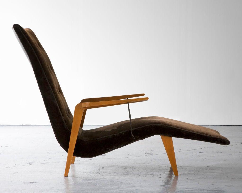 Mid-20th Century Chaise lounge by Joaquim Tenreiro