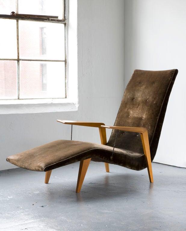 Chaise lounge by Joaquim Tenreiro 1