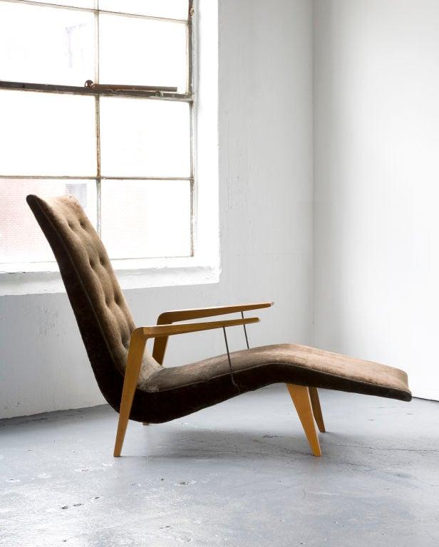 Chaise lounge by Joaquim Tenreiro 2