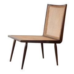 Low Bedroom Chair by Joaquim Tenreiro, Brazil, circa 1960
