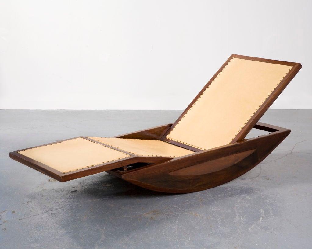 Chaise longue rocking chair by joaquim tenreiro image 5 - Chaise rocking chair ...