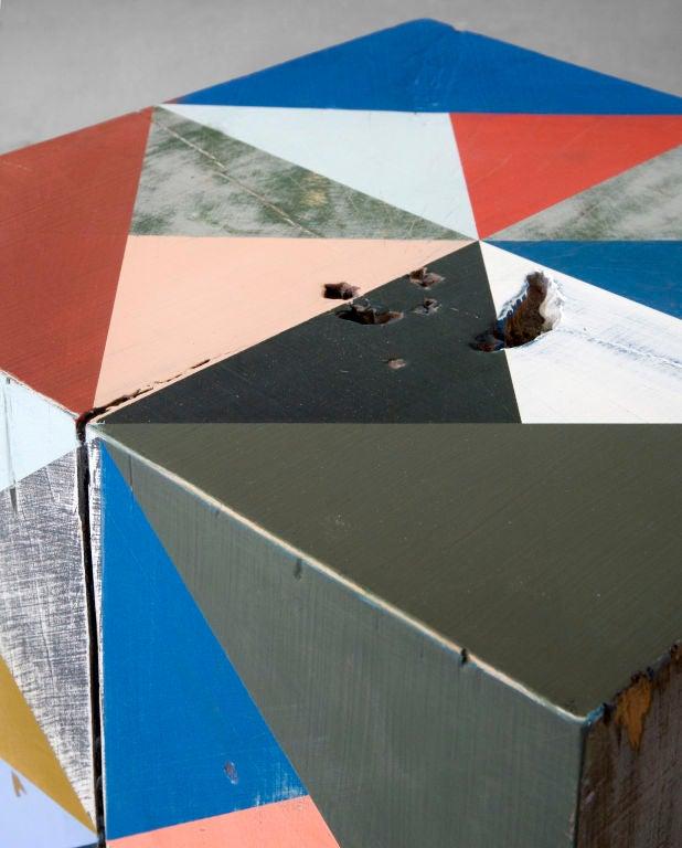Extra Large Block Scuplture By Serena Mitnik-miller 1