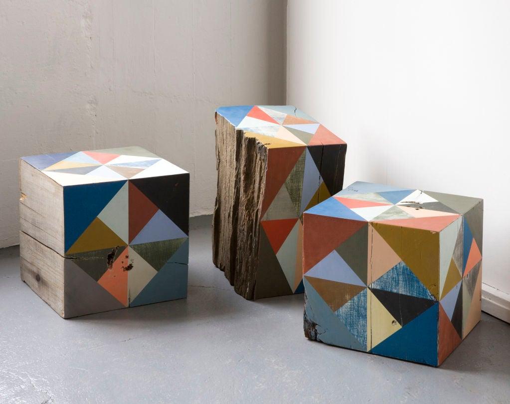 Extra Large Block Scuplture By Serena Mitnik-miller 2