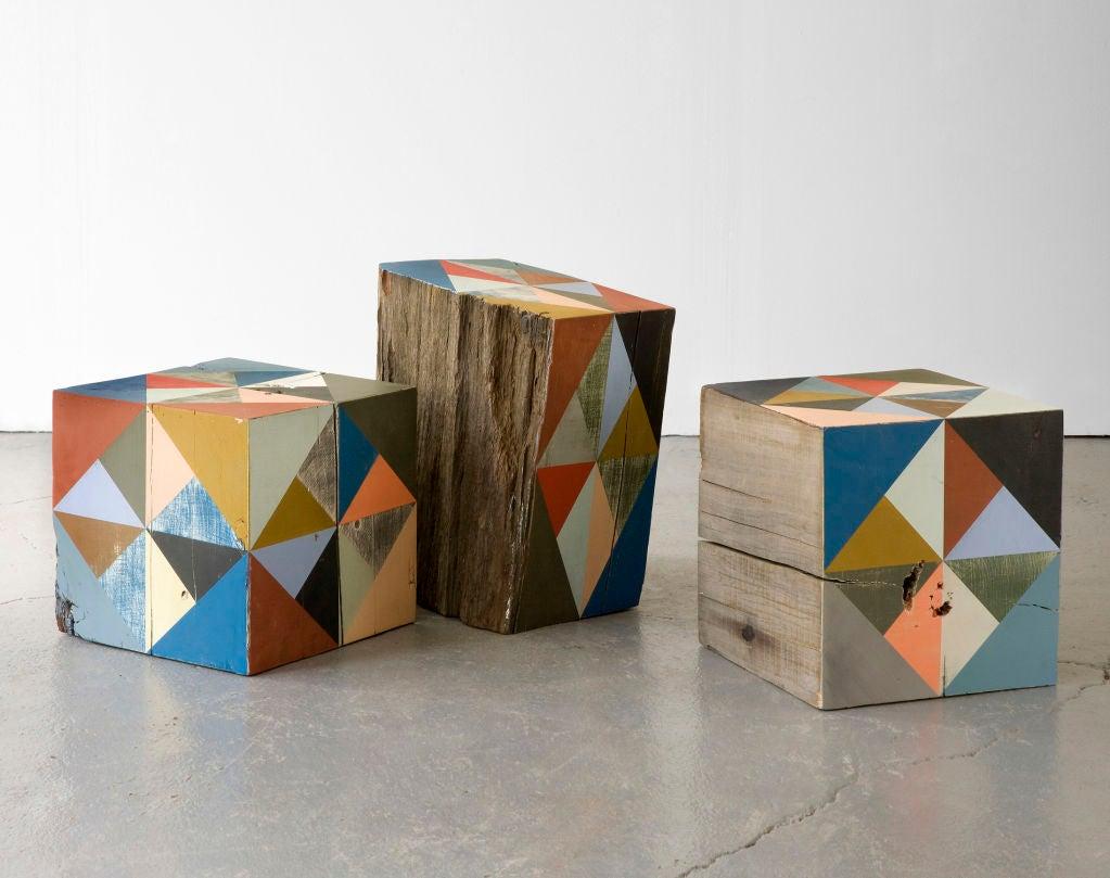Extra Large Block Scuplture By Serena Mitnik-miller 3