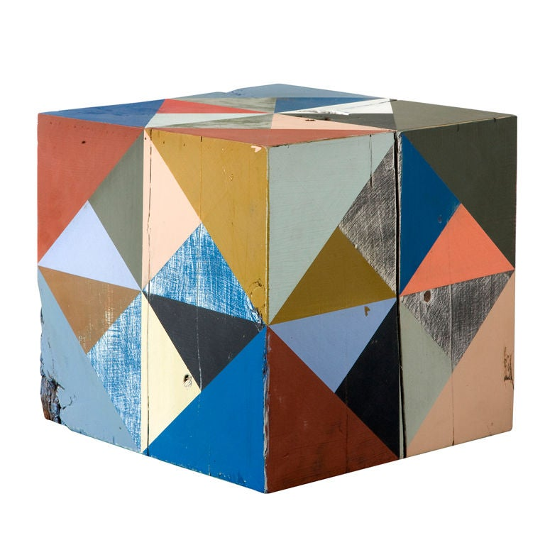 Extra Large Block Scuplture By Serena Mitnik-miller