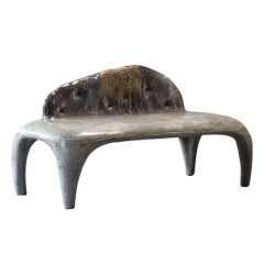 """Concrete Bench with Round Legs,"" by Hun-Chung Lee"