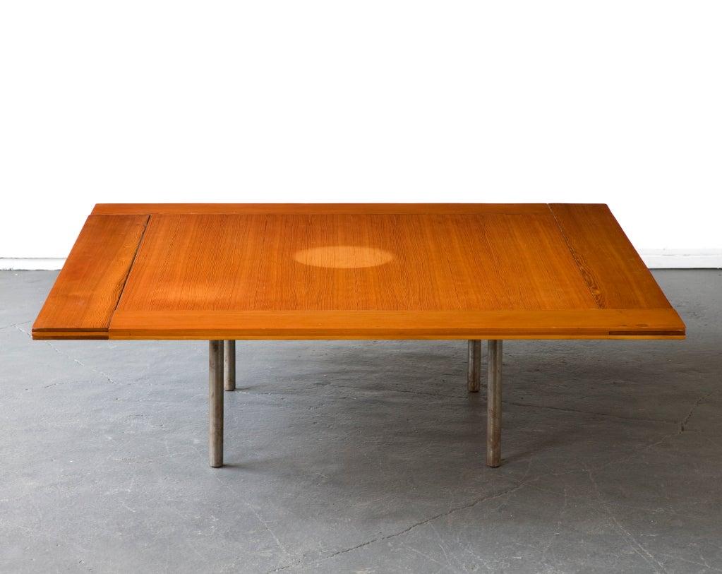 Rare Pk-43 Table by Poul Kjaerholm, Denmark, 1956 3