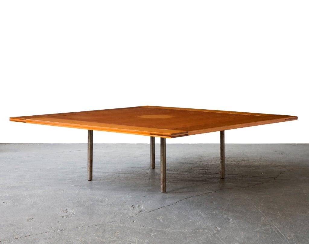 Rare Pk-43 Table by Poul Kjaerholm, Denmark, 1956 4