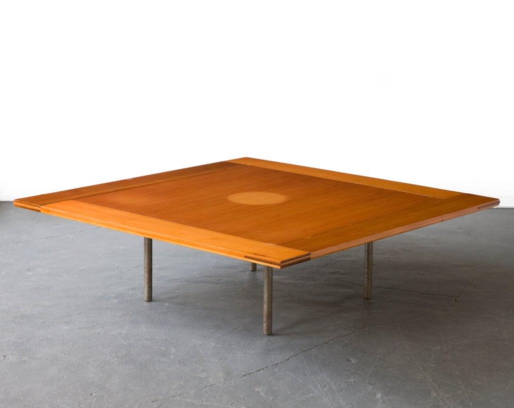 Rare Pk-43 Table by Poul Kjaerholm, Denmark, 1956 5