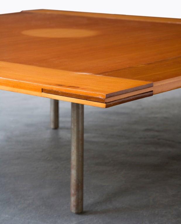 Rare Pk-43 Table by Poul Kjaerholm, Denmark, 1956 7