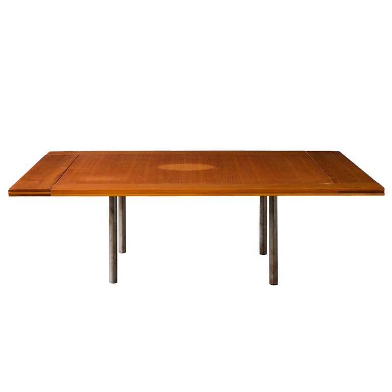 Rare Pk-43 Table by Poul Kjaerholm, Denmark, 1956 1