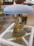 French 19th Century Swan Stool image 2