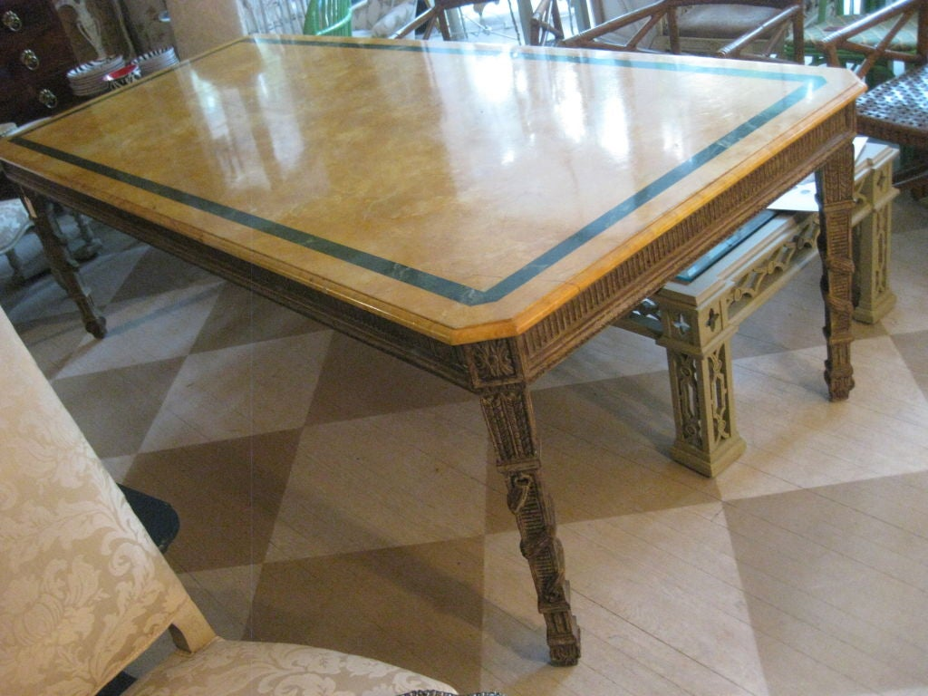 Italian Faux Marble Top Hall or Dining Table at 1stdibs : 877212771652444 from www.1stdibs.com size 1024 x 768 jpeg 121kB