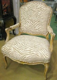 19th Century Napoleon III Armchair