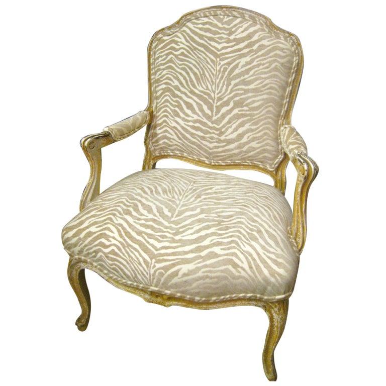 19th Century Napoleon III Armchair For Sale