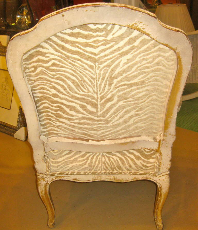 19th Century Napoleon III Armchair In Good Condition For Sale In Southampton, NY