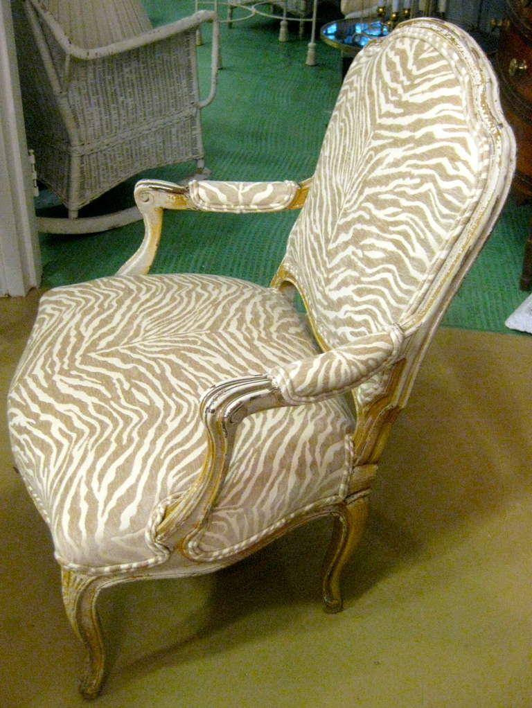 19th century Napoleon III armchair.