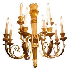 Swedish Regency Style Chandelier