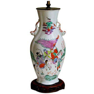 Antique Hand Painted Chinese Oriental Porcelain Ceramic
