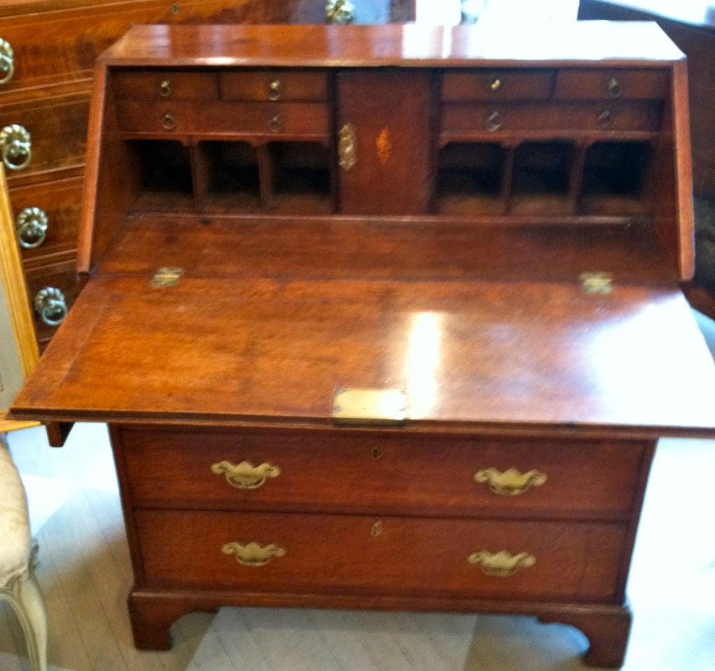 18th Century Oak Slant Top Desk At 1stdibs
