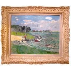 "Nicoloi Ciksvsky American, ""Coldspring Pond, Southampton Long Island"""