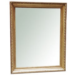 Exemplary Biedermeier Gilt Wood Mirror