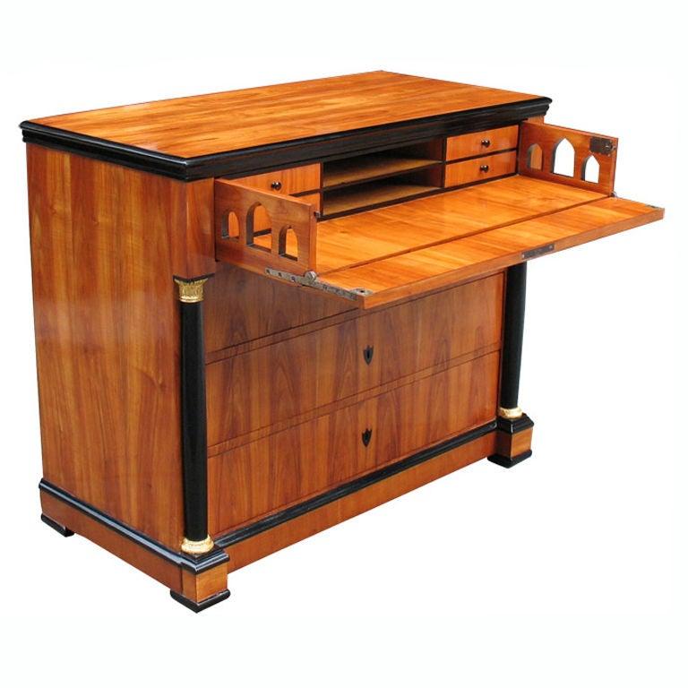 Exemplary Biedermeier Conversion Desk At 1stdibs