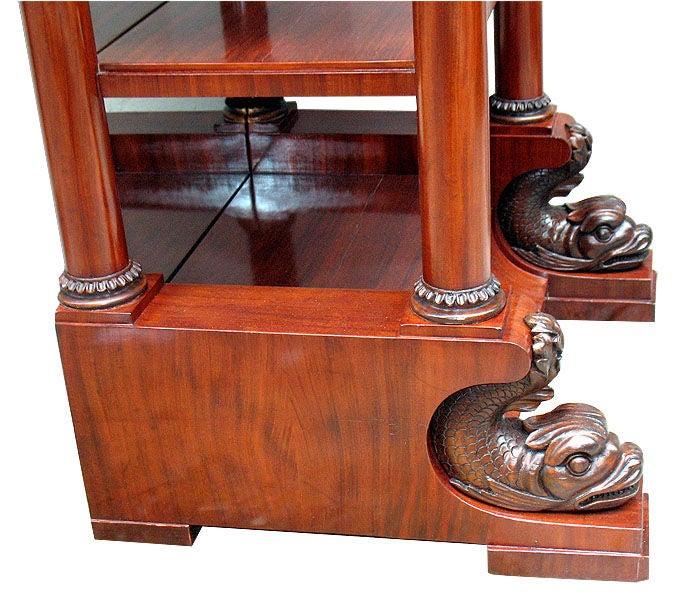 exemplary german neo classical biedermeier etagere vitrine for sale at 1stdibs. Black Bedroom Furniture Sets. Home Design Ideas