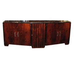 Unusually Large and Elegant French, Art Deco Buffet