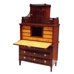 Rare German Biedermeier Secretaire