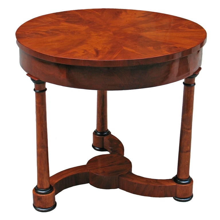 Outstandingly designed architectural biedermeier table at 1stdibs - Archives departementales 33 tables decennales ...