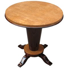 French Art Deco Side Table or Gueridon