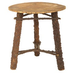 Vintage Bark Table