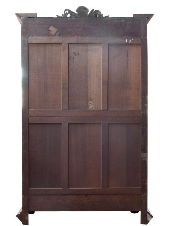 Antique Oak Armoire image 4