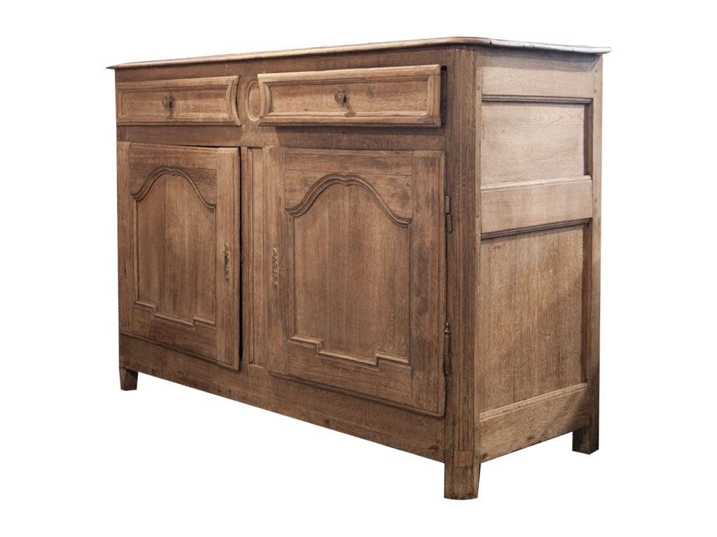 Vintage bleached oak cabinet at 1stdibs for Bleached wood kitchen cabinets