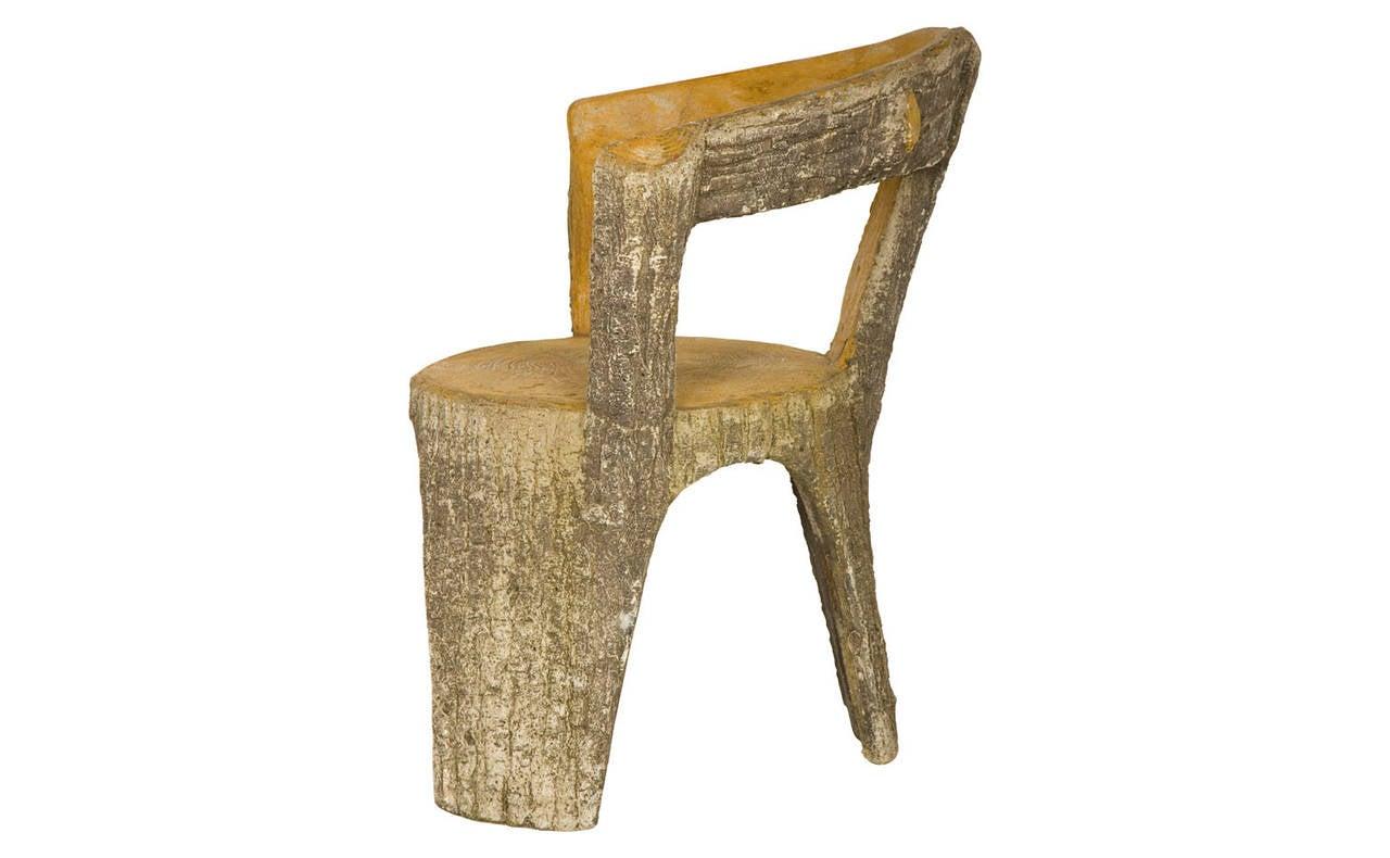 Antique faux bois chair at 1stdibs for Faux fini antique meuble