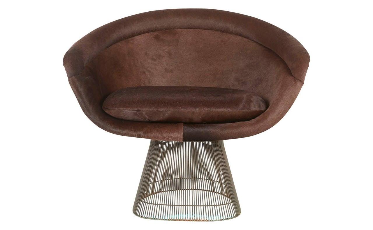 Vintage Bronze Platner Lounge Chair At 1stdibs