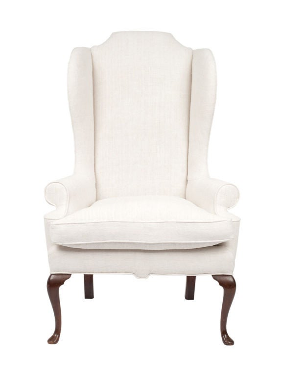 Tufted Leather Wingback Chair Sorry, this item from Jayson Home is not available.